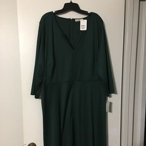 NWT Jose Natori Emerald Green Dress